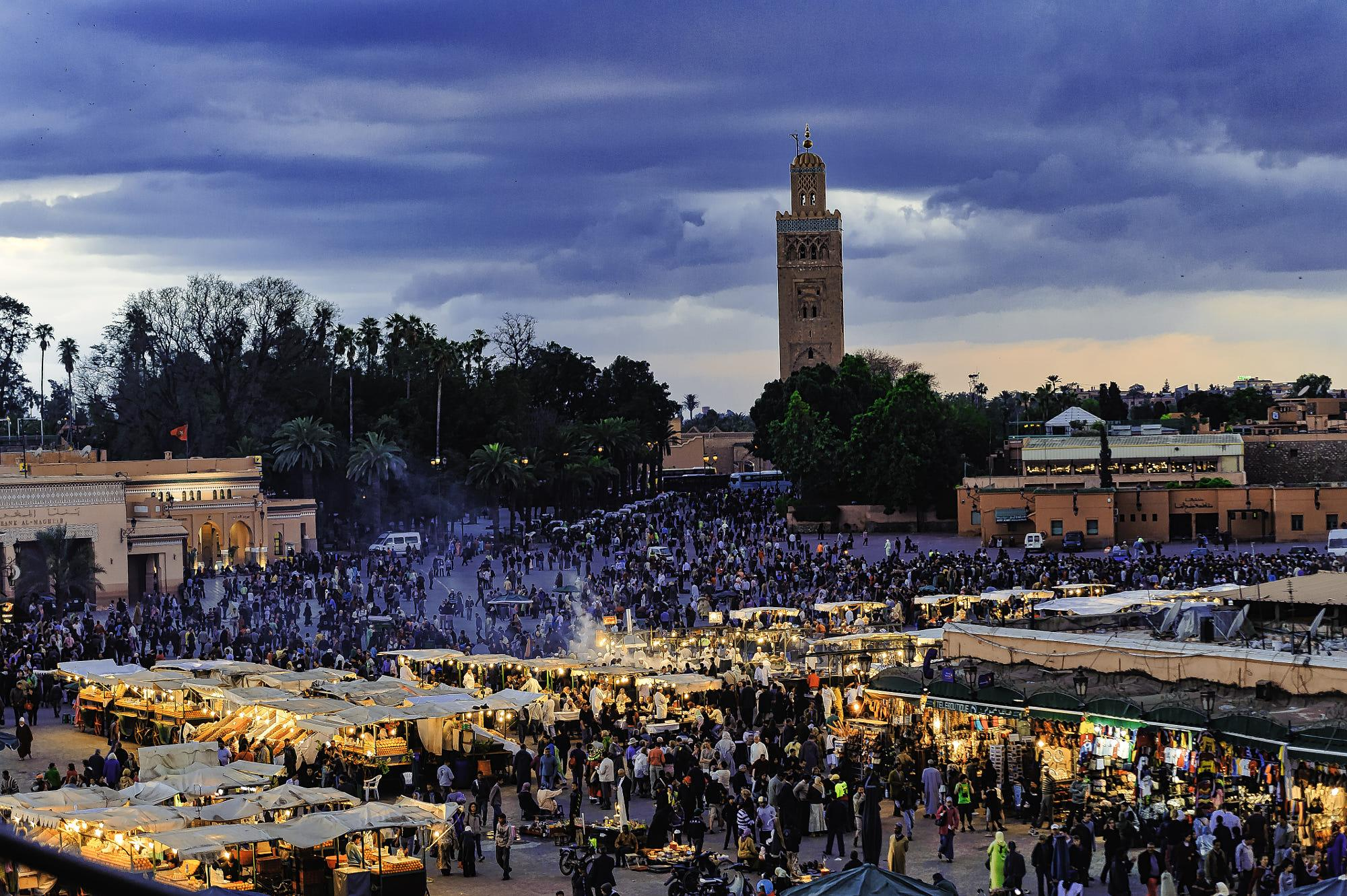 The Big Square at Marrakech, Jamaa el Fana